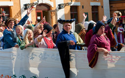 The Medieval Market in Turku Royalty Free Stock Photography