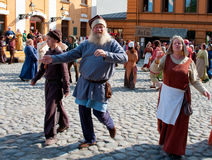 The Medieval Market in Turku Stock Images
