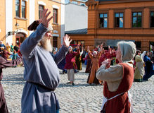 The Medieval Market in Turku Royalty Free Stock Image