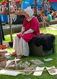 The Medieval Market of Turku Stock Photography