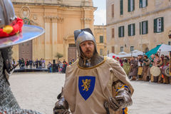 Medieval Mdina festival Royalty Free Stock Photography