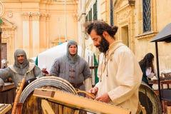 Medieval Mdina festival Stock Photography