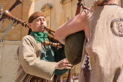 Medieval Mdina festival Stock Photo