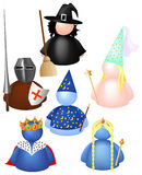 Medieval messenger Royalty Free Stock Images