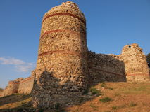 The medieval Mezek Fortress (Bulgaria) Royalty Free Stock Images
