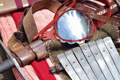 Medieval military equipment Royalty Free Stock Image