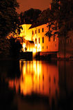 Medieval Mill on Certovka channel, Prague Royalty Free Stock Photos