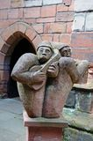 Medieval Minstrels, Coventry. Royalty Free Stock Photos
