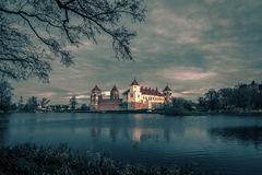 Medieval Mir Castle Complex in Belarus Royalty Free Stock Photography