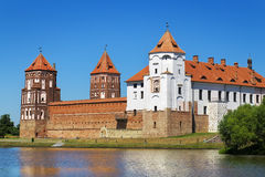 Medieval Mir castle Royalty Free Stock Photo
