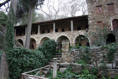 Medieval monastery Stock Photography