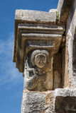 Medieval monastery built over the ruins of the ancient Apollonia. Town, Albania Royalty Free Stock Image