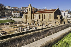 Medieval monastery in Coimbra Royalty Free Stock Photography