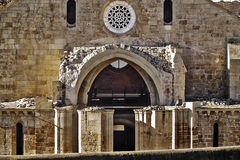 Medieval monastery entry Royalty Free Stock Photography