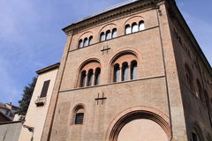 Medieval monastery of Parma Royalty Free Stock Photos