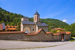 The medieval monastery Raca - Serbia. Architecture travel background Royalty Free Stock Images