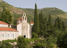Medieval Montenegro Monastery Royalty Free Stock Image