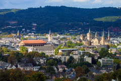 Medieval monuments in Trier Stock Photo