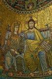 Medieval mosaics Royalty Free Stock Photo