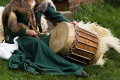 Medieval musical instrument Royalty Free Stock Image