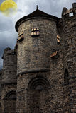 Medieval mystical castle Royalty Free Stock Photo