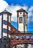 Medieval 1900 - 1908 Neo-Baroque Old Town Hall in Frankfurt am Main, Germany. Old Town Hall - Monumental building complex from 1900-1908 in forms of Neo-Baroque Royalty Free Stock Image