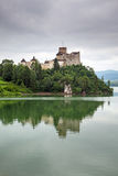 Medieval Niedzica Castle at Czorsztyn Lake Royalty Free Stock Photos