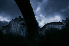 Medieval night Stock Photography