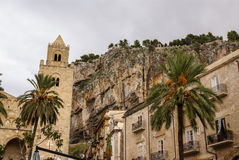 Medieval Norman Cathedral-Basilica of Cefalu,sicilia,italy Royalty Free Stock Photography
