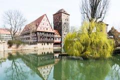 Medieval Nuremberg Stock Images