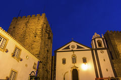 Medieval Obidos in Portugal Royalty Free Stock Images