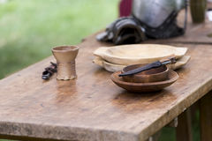 Medieval objects Royalty Free Stock Photo