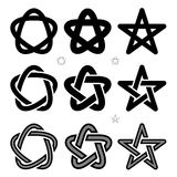 Medieval Occult signs Stock Image