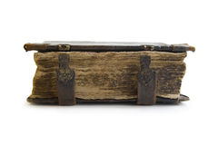 Medieval old book, psalter Royalty Free Stock Photo
