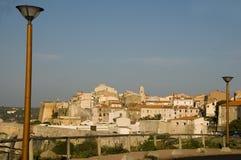Medieval old city bonifacio corsica france Stock Image