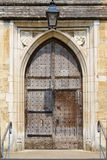 Medieval old door Royalty Free Stock Photo