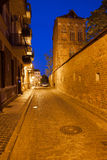 Medieval Old Town of Torun by Night Royalty Free Stock Images