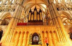 Medieval organ Royalty Free Stock Photo