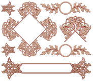 Medieval ornament Royalty Free Stock Images
