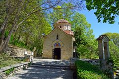 Medieval Orthodox church shot at Balchik Royalty Free Stock Photography