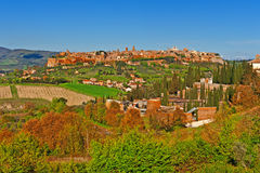 Medieval  Orvieto Royalty Free Stock Photo