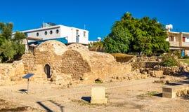 Medieval Ottoman baths in Paphos Stock Photos