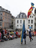 Medieval pageant in Brussels Royalty Free Stock Photo