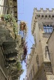 Medieval palace Stock Photo