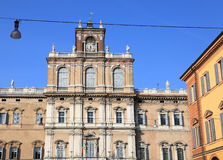 Medieval Palace of Modena Stock Photography