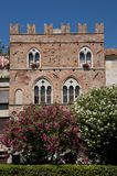 Medieval palace  in the village of Noli Stock Photography