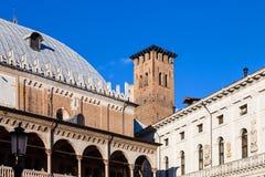 Medieval Palazzo della Ragione in Padua Stock Photo
