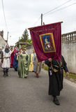 Medieval Parade Stock Images
