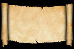 Medieval parchment. Stock Images