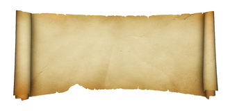 Medieval parchment. Royalty Free Stock Image